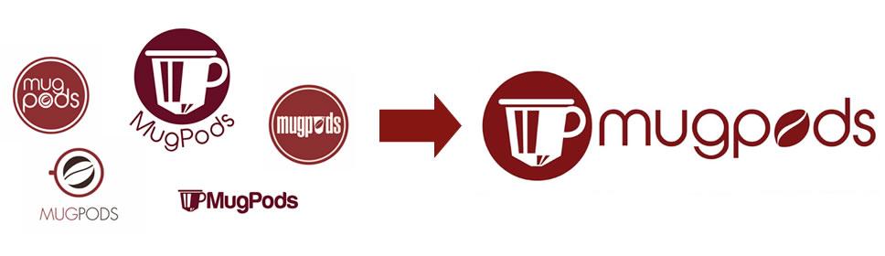 Mugpods Logo Design