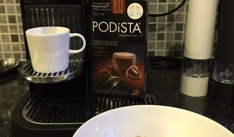 Nespresso machine porridge